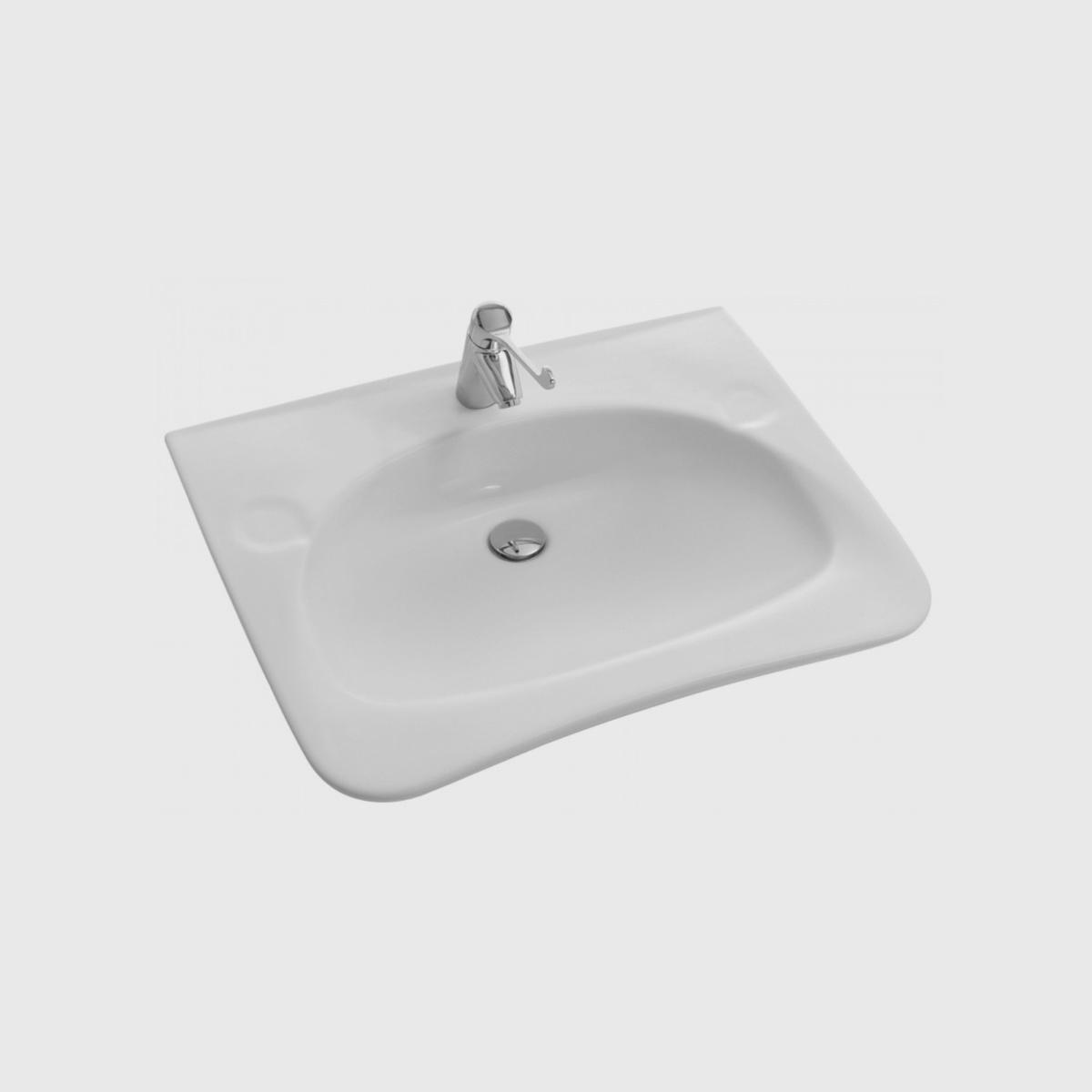 Lavabo Personne Mobilité Réduite lavabo handilav - luciani materiaux